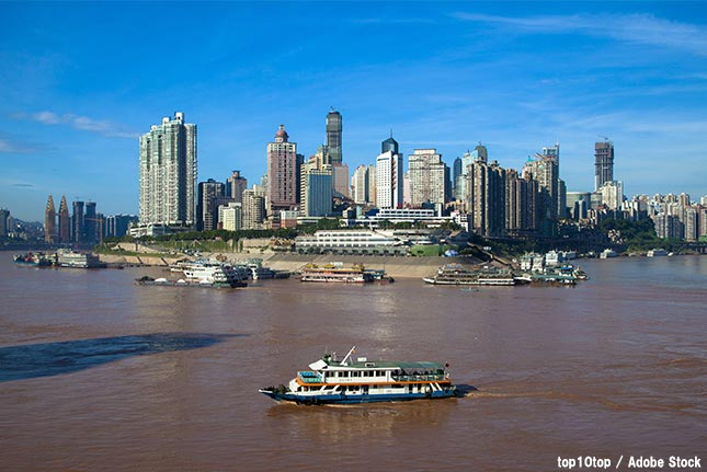 揚子江・長江が枯渇する?中国の深刻な水質汚染は何が原因なのか