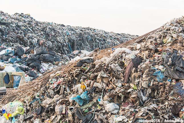【かなりヤバイ!】最終処分場が限界でゴミを捨てられなくなる!