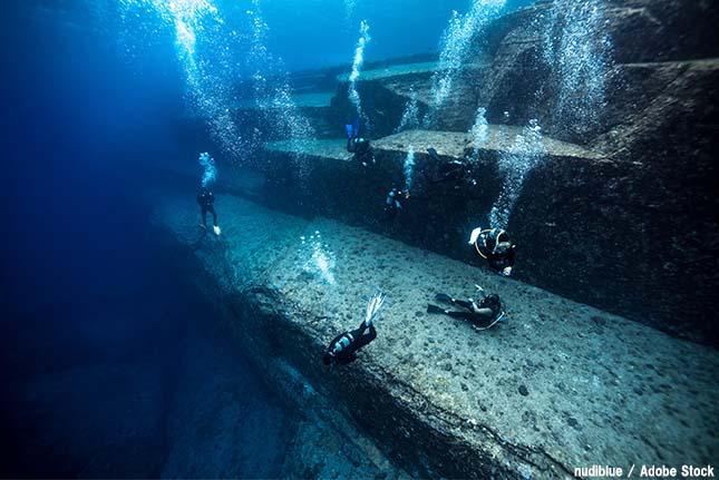 謎の与那国島の遺跡は人工物か自然現象か?ダイビングツアーも人気!