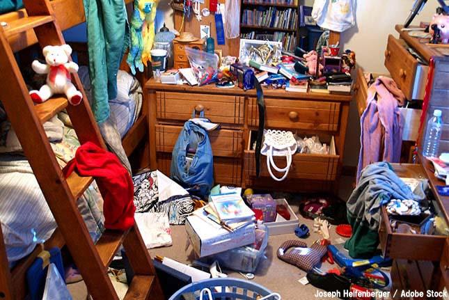 汚い部屋は要注意!汚部屋が与える悪い影響とは