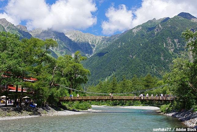 上高地の見所は?大正池や河童橋など自然を満喫できるスポットご紹介