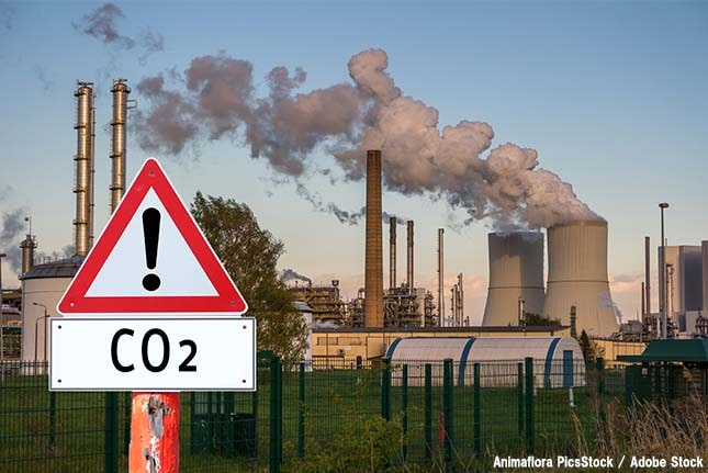 二酸化炭素の濃度が過去最高値を記録!温暖化や健康への影響は?