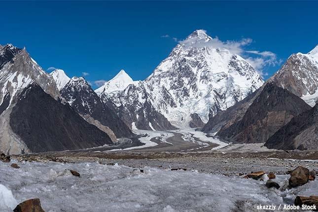 世界で2番目に高い山は「K2」