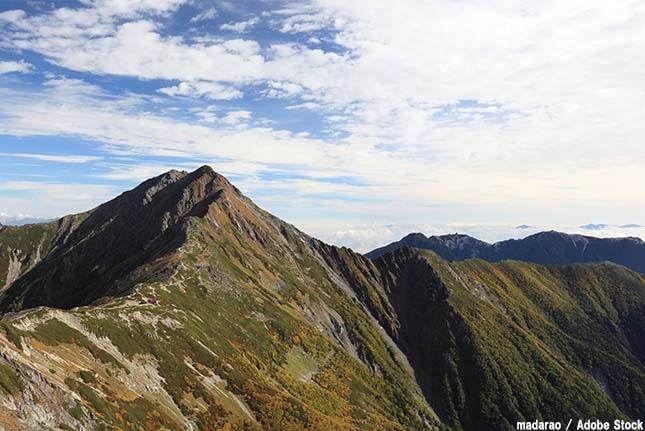 日本で2番目に高い山は「北岳」