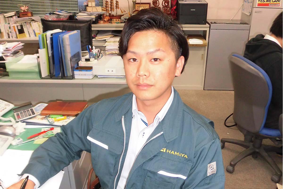 環境産業の職場探訪② 小池翔平さん(29歳)契約取った時の達成感が何ともいえない