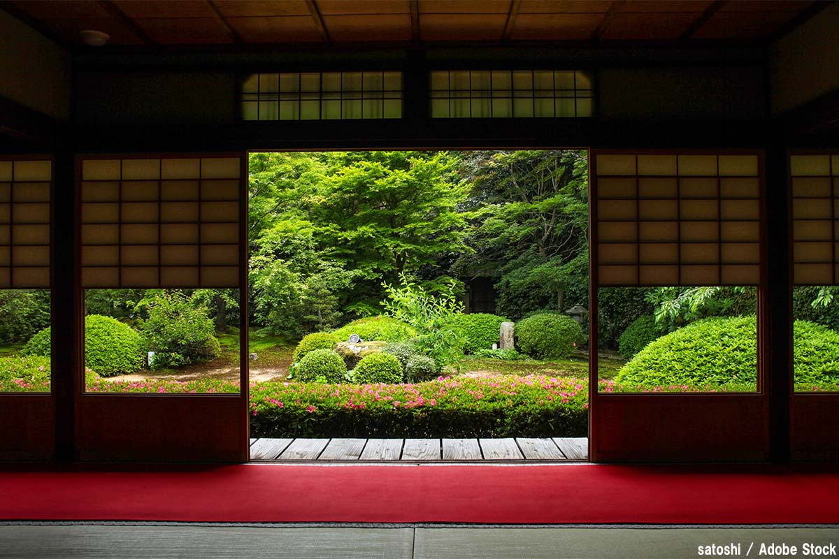 日本庭園と西洋庭園の比較から見る自然に対する価値感の違い
