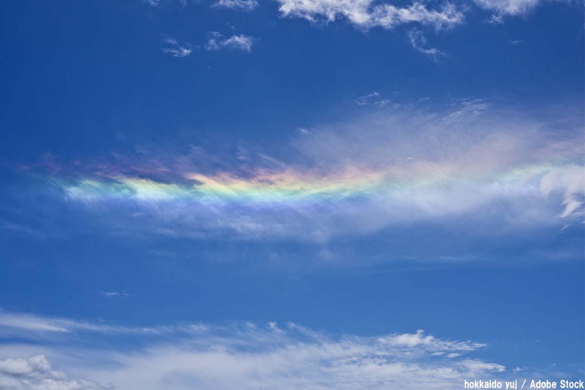虹に似た現象まとめ!環水平アーク・幻日など空に現れる不思議