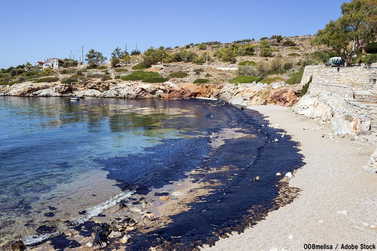 海難事故による海洋汚染とは?流出原油の影響や過去の事例