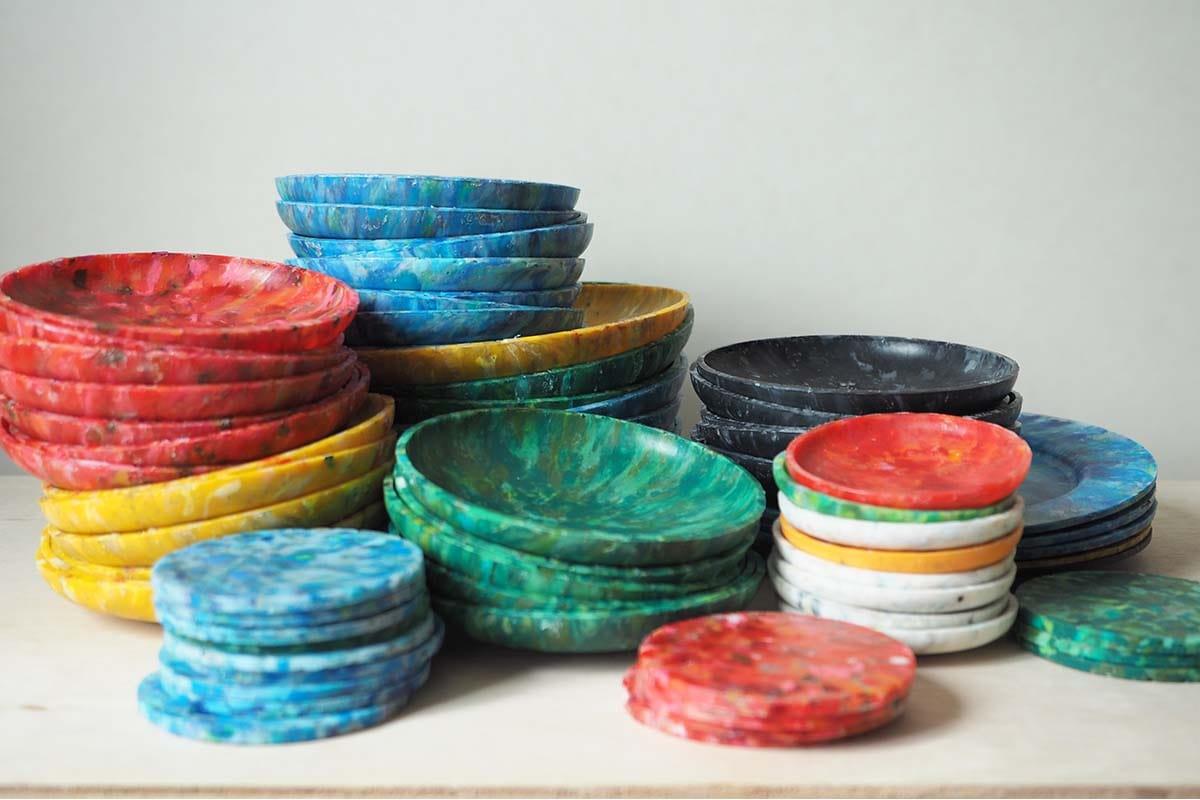 buøy、海洋プラスチックごみが色鮮やかな工芸品に生まれ変わる①