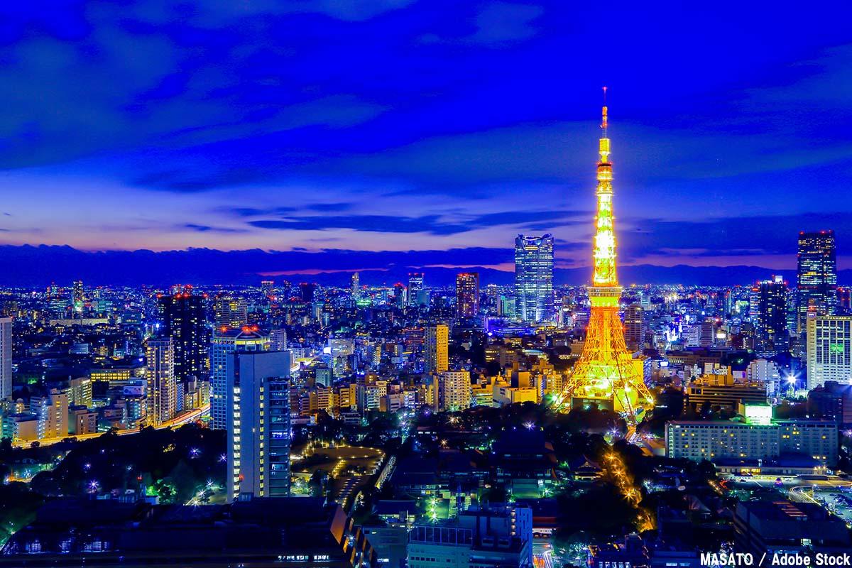 東京タワーのマジックアワー