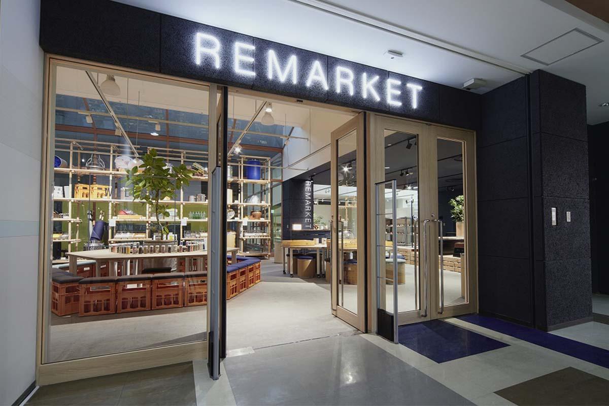 ブックオフが新ブランド「REMARKET」をオープン!モノの循環を親子で学べる空間