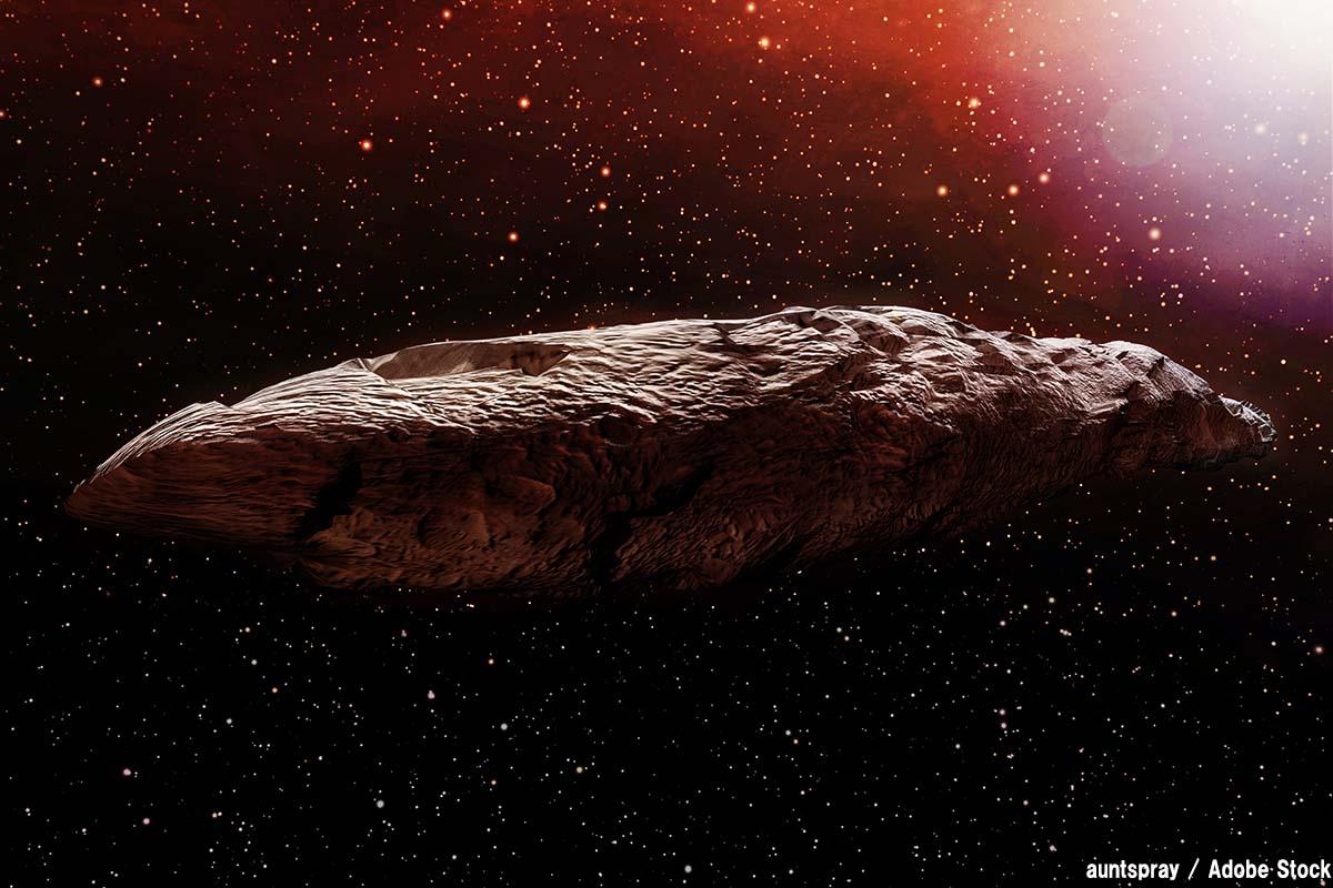 オウムアムアとは?初の恒星間天体は宇宙人の探査機か