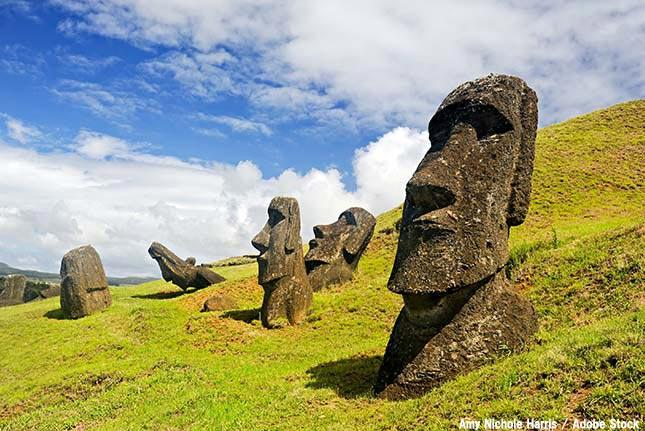謎多きモアイ像は環境問題の象徴?イースター島の文明崩壊とは