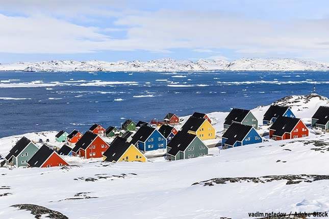 グリーンランドの氷が急激に溶けている?進む温暖化の影響か