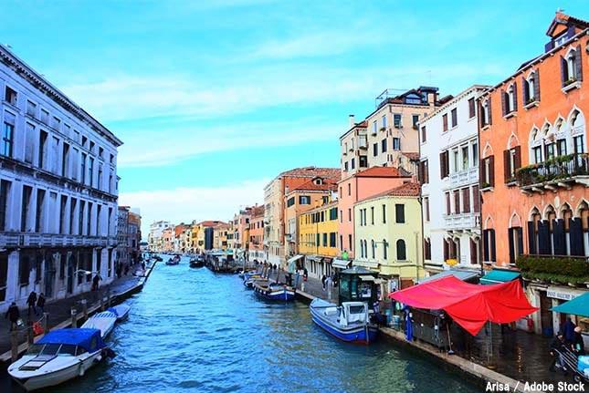 ベネチアが水没の危機?地球温暖化で水の都が失われてしまうのか