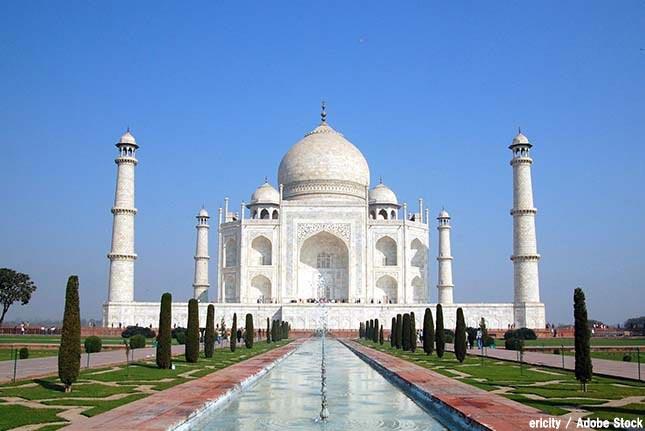 世界遺産タージ・マハルが環境問題で消失!原因はインドの大気汚染?