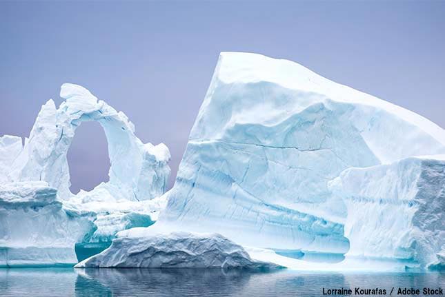 南極の下に巨大な空洞が出現?急速に溶けているスウェイツ氷河とは